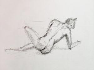 Séance de dessin de nu