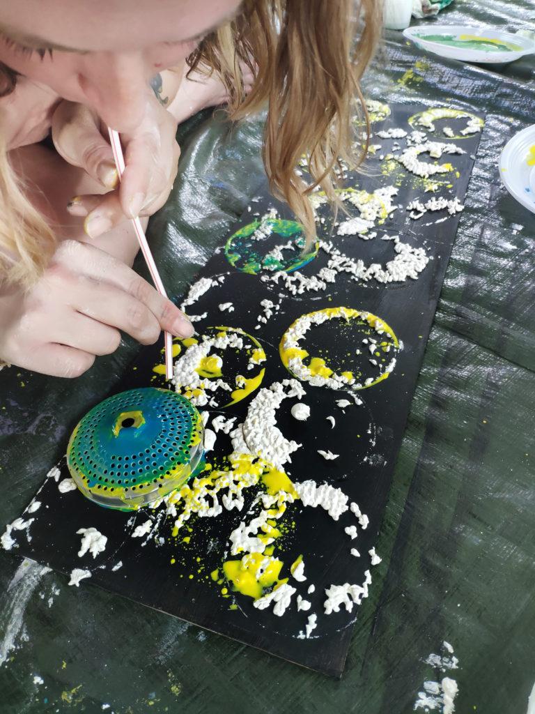 Exploration de la matière - Atelier d'expression plastique ) Touluose