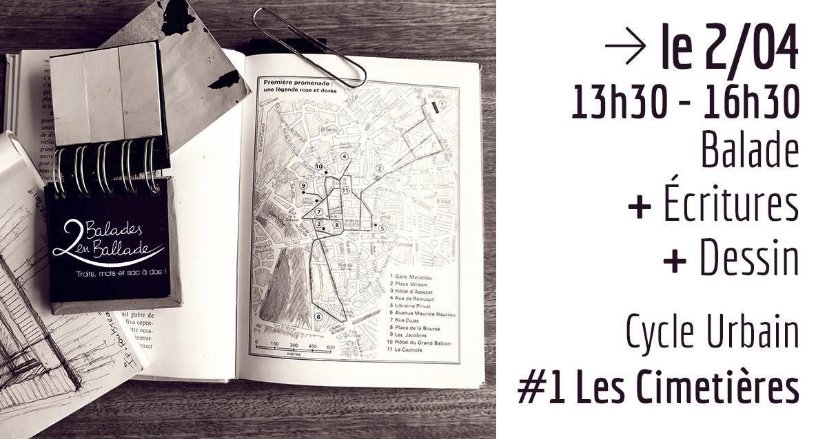 cycle urbain - #1 Les Cimetières - 2 balades en ballade - Toulouse