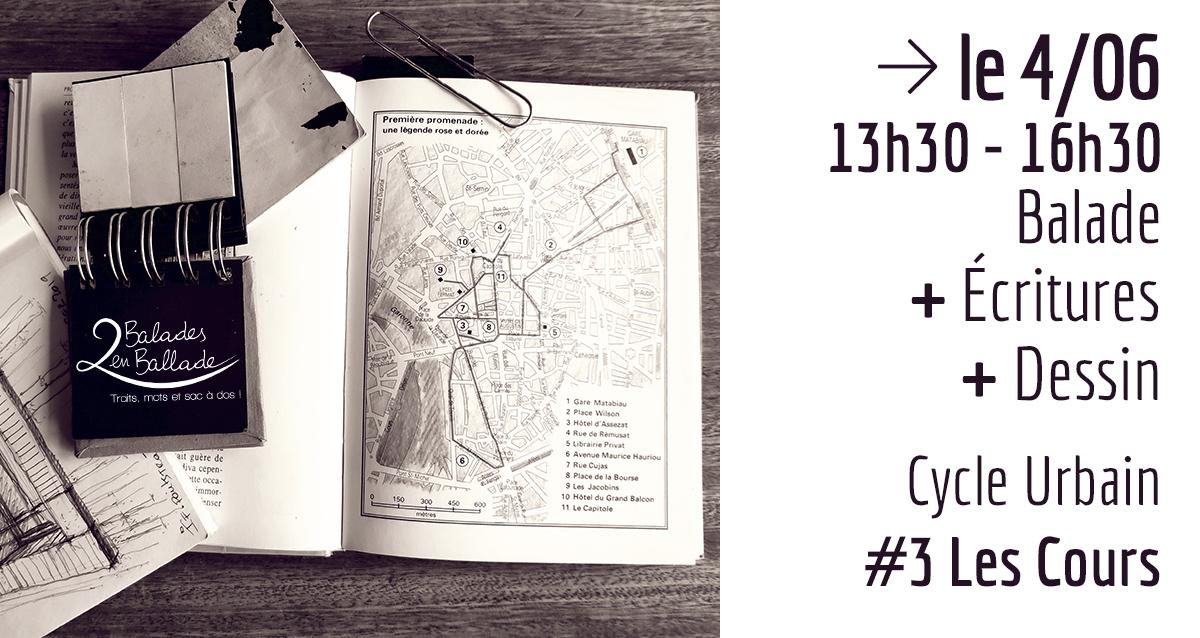 cycle urbain - #3 Les Cours Intérieures - 2 balades en ballade - Toulouse
