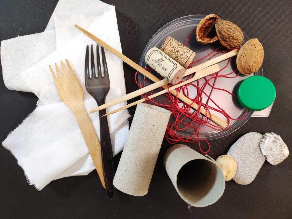 matériel et outils pour être créatif