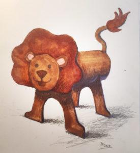 Fabriquer des animaux avec des rouleaux de papier toilette #1
