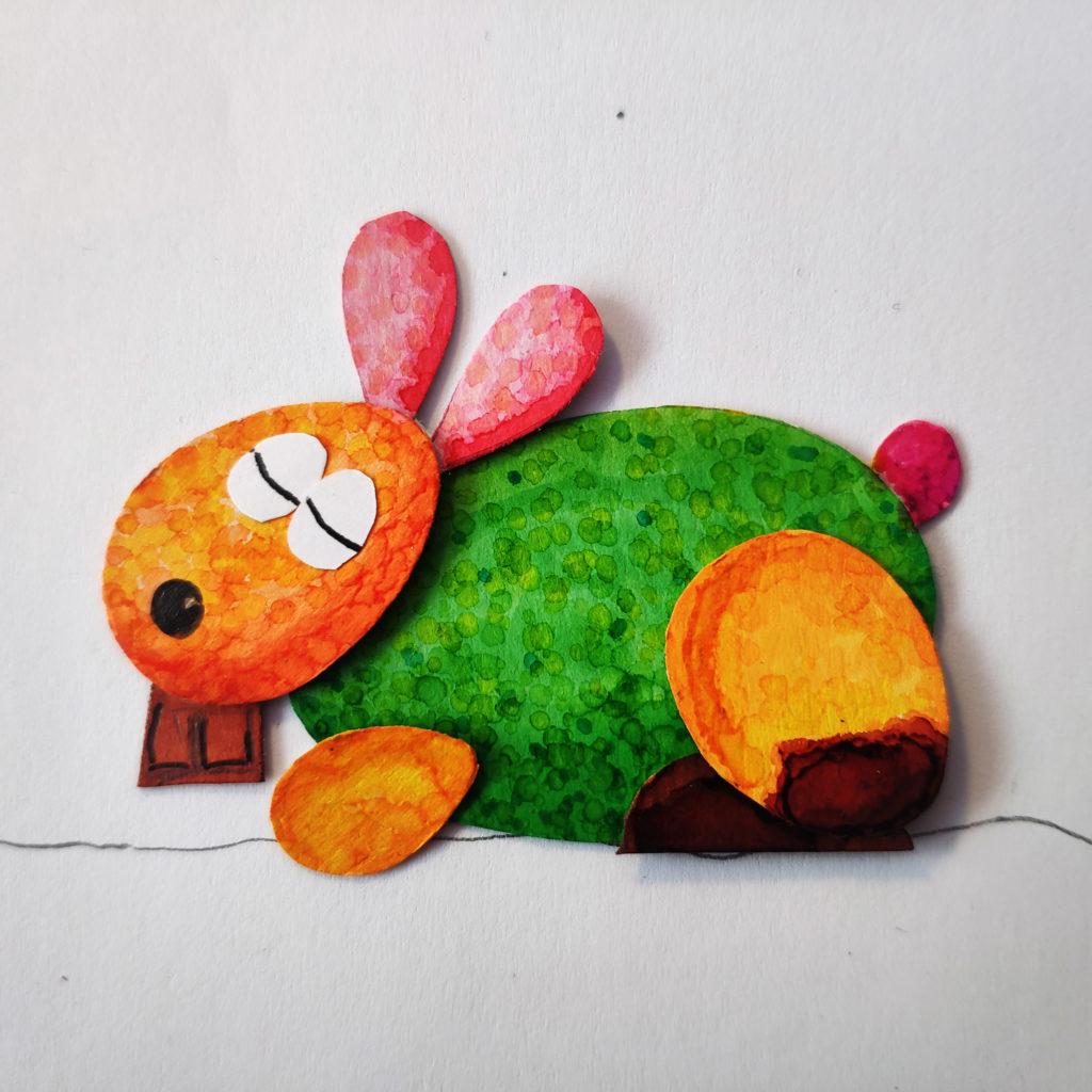 tuto Le Lapin de Pâques - photo 2