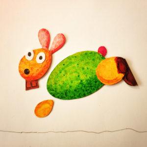 Tuto très facile : Faire un Lapin de Pâques avec du carton de récup !