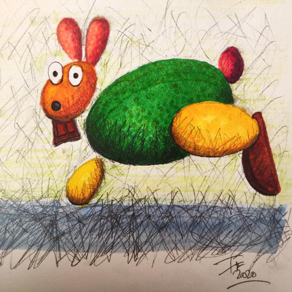 tuto Le Lapin de Pâques -dessin