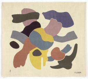 Les formes sur fond blanc - Fernand Léger